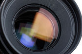 Lens with reflections — Stock Photo