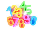 Bright numbers — Stock Photo