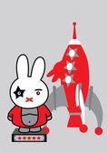 Starbunny — Cтоковый вектор