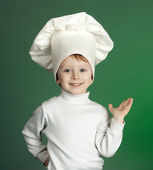 The cheerful cook — Stock Photo
