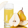 Fresh pear juice — Stock Photo #4988763