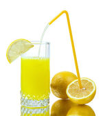 Fresh lemon juice — Stock Photo