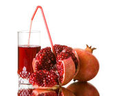 Fresh pomegranate juice — Stock Photo