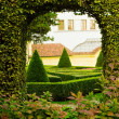 European garden detail - Stock Photo