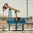 Oil pump jack — Stock Photo #4601841