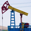 Oil pump jack close-up — Stock Photo