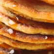 Royalty-Free Stock Photo: Pancakes stack close-up