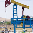 Oil pump jack — Stock fotografie #5237632