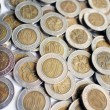 Hong Kong Ten Dollar Coins — 图库照片