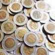 Stock Photo: Hong Kong Ten Dollar Coins