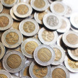 Hong Kong Ten Dollar Coins — Stock Photo #3957606