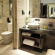 Toilet in luxury hotel room — Foto de stock #4775721