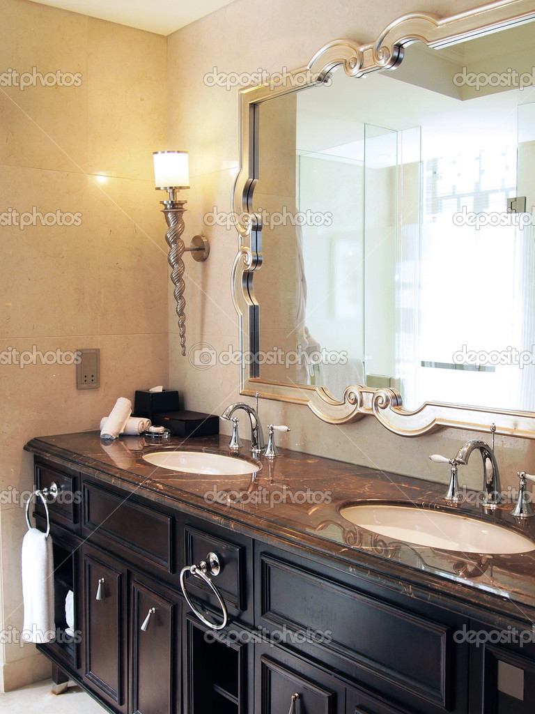 Vintage style bathroom stock photo ivylingpy 4919052 for Bathrooms in style
