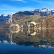 Alpine view of Walensee Lake in Switzerland — Stock Photo #4902332