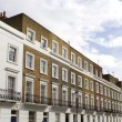 Houses in Knightsbridge London — Stock Photo