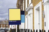 For sale house in London — Stock Photo