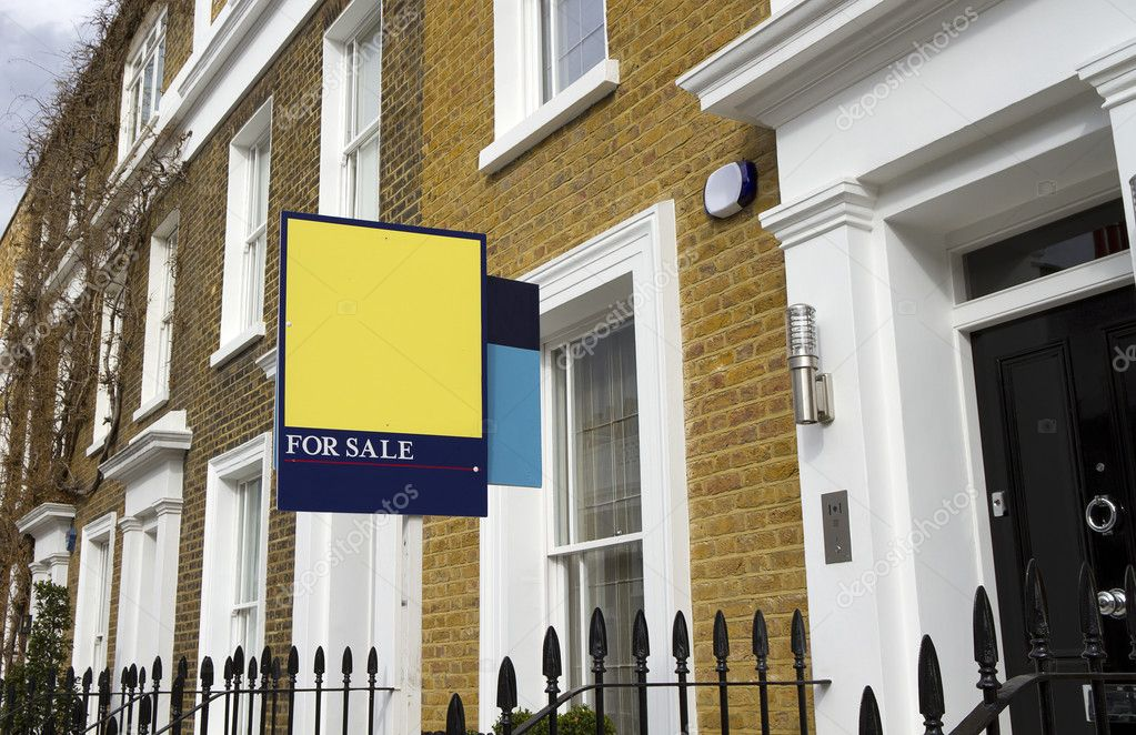 For sale house in London — Stock Photo © antoine2000 #5185068