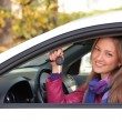 Happy owner of a new car. — Stock Photo #3977768