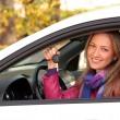 This is my new car! — Stock Photo #3993999