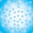 Abstract snow background — Stock Vector