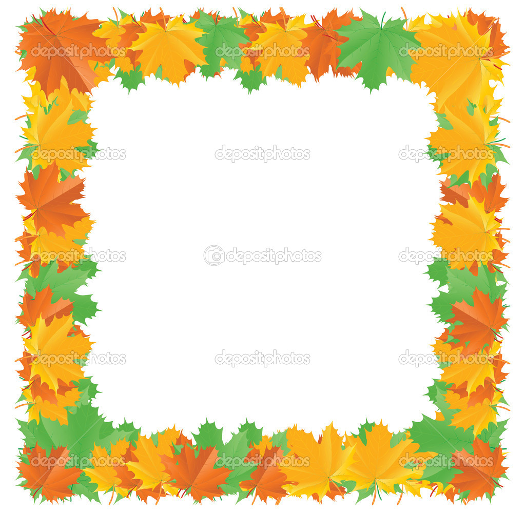 Fall Leaves Page Border http://depositphotos.com/4239849/stock-illustration-Fall-leaf-border.html