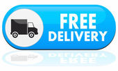 Free delivery icon — Stockvektor