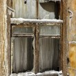 Royalty-Free Stock Photo: Window of the abandoned house