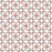 Seamless decorative pattern. — Stock Vector