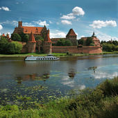 The old castle in Malbork - Poland. — Photo