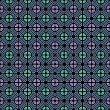 图库矢量图片: Seamless geometric color pattern.