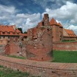 The old castle in Malbork - Poland. - Stock Photo