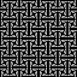 Seamless decorative labyrinthine pattern. — Stock Vector