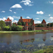The old castle in Malbork - Poland. — Stock Photo #4057626