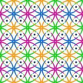 Naadloze multicolor abstracte patroon. — Stockvector