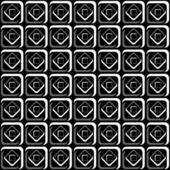シームレスな幾何学的なチェック模様. — ストックベクタ