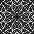 Vector de stock : Seamless checked crisscross pattern.