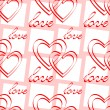 Royalty-Free Stock Vector Image: Love. Seamless pattern.