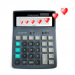 Royalty-Free Stock Photo: Love calculation.
