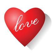Amour. carte de la saint-valentin. — Vecteur