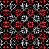 Bezešvé kostkovaný vzor. — Stock vektor
