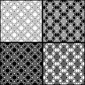Seamless patterns set. — Stock Vector