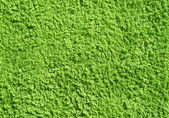 Groene handdoek textuur. — Stockfoto