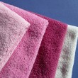 Stock Photo: Towels set.