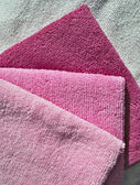 Microfiber towels set. — Stock Photo