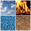 Four Elements — Stock Photo #3978757