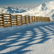 Stock Photo: Ski resort