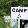 Camp sign — Stock Photo #4143016