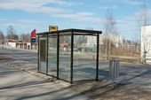Busstop — Stock Photo
