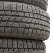 Stock Photo: Winter Tyres