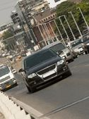 City traffic — Stock Photo